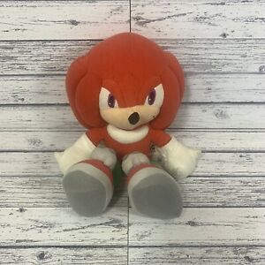 Rare Knuckles Plush Soft Toy Sonic And Friends Sega Prize Europe