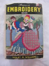 """VINTAGE 1950's """"PEARSON'S EMBROIDERY BOOK"""" - NEEDLEWORK SEWING INSTRUCTION BOOK"""