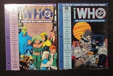 1991 WHO'S WHO IN THE DC UNIVERSE #7 8 Sealed / Justice League / Lobo