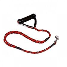 "EZYDOG Cujo 25"" Reflective Dog Lead / Leash Red - Free Delivery"