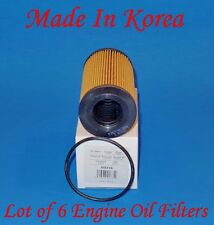 (Lot of 6) Oil Filter M5316 For:PORSCHE 911 Carrera GT2 GT3 Targa Turbo Boxster