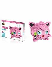 Magic Blocks Pokemon Jigglypuff Monster Figure Diamond Mini Building(1605pcs)