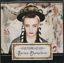 "CULTURE CLUB - KARMA CHAMELEON / THAT'S THE WAY  - VINYL 7"" - 45 RPM"