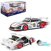 Solido 1:18 - 1978 Porsche 935 Moby Dick #43 24 Hours Le Mans - Diecast Model