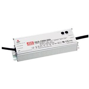 MeanWell HLG-120H-12A 120W 12V 10A LED power supply IP65