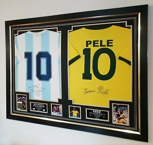 LUXURY FOOTBALL Double SHIRT FRAME JERSEY FRAMING * We frame your shirt for you