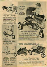 1965 ADVERTISEMENT Toy Pedal Tractor Murray Diesel Horse Carousel Wonder Blaze