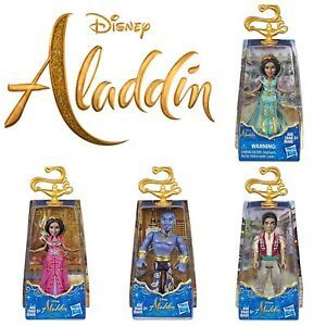 "DISNEY ALADDIN MOVIE 3.5"" HASBRO ACTION FIGURES TOYS SET 4 TO COLLECT DOLLS 8cm"