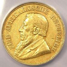 1895 South Africa Zar Pond 1P KM-10.2 - ANACS AU50 Details - Rare Date Coin