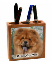 Chow   red color     ( 25 )   Personalized  Pencil and Pen Holder