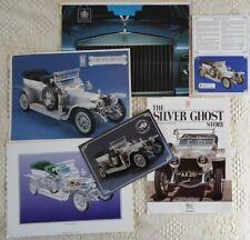 ROLLS ROYCE Silver Ghost 1990 Promotion Package 1990 - Leaflets & Brochures etc