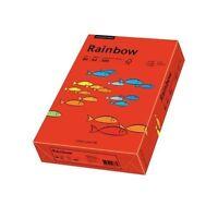500 Blatt Kopierpapier Rainbow A4 80g intensivrot intensiv farbiges Papier