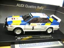 AUDI Quattro Rally San Remo 1982 Blomqvist WINNER #9 SST SUNSTAR 1:18