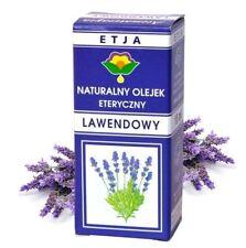 Natural Essential Lavender 10ml ETJA Self massage / LAWENDA