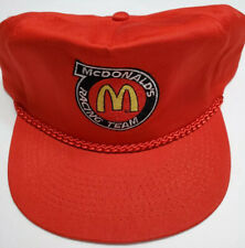 Mc Donald's Racing Team Hat - Men's Vintage NASCAR Racing Hat - Original/ New