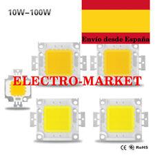 Led chip de 10 W 20 W 30 W 50 W 100w DC 10 V - 32 V ROJO- AZUL-VERDE-BLANCO