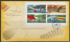 CANADA #2087 50¢ FISHING FLIES FIRST DAY COVER