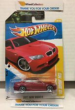 '10 BMW M3 #26 * RED * New Models 2011 Hot Wheels * H29