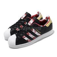 adidas Originals Superstar CNY Black Gold Red Mens Womens Lifestyle Shoes FW5271