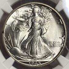 1945-S Walking Liberty Half Dollar NGC MS64**