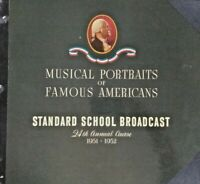 Radio Transcription Disc LOT - Standard School Broadcast Records  1950-1951