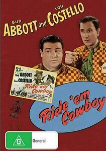 Ride 'em Cowboy - Abbott and Costello DVD