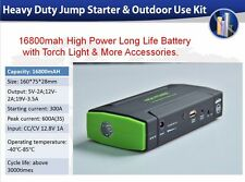 16800mah High Power  Portable Power Supply and Emergency Jump Starter Kit