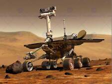 SPACE VEHICLE MARS ROVER ARTIST IMPRESSION RED PLANET POSTER ART PRINT BB3264B