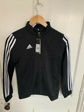 Adidas BRAND NEW WITH TAGS Tiro 19 Youth (small) black training track top, 11-12