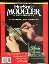 Fine Scale Modeler Magazine September/October 1984 Airbrush EX No ML 010617jhe