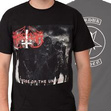 MARDUK-THOSE OF THE UNLIGHT-T-SHIRT-X-LARGE-SWEDISH BLACK