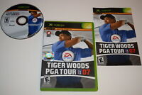 Tiger Woods PGA Tour 07 Microsoft Xbox Video Game Complete