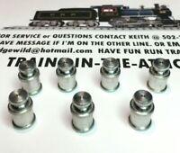 LIONEL MILK CAN POSTWAR 3462-70 MAGNETIC 7EA FOR MILK CAR MADE IN USA BEST PARTS