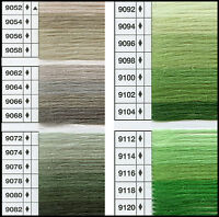 Anchor Tapestry Wool 10m Colours 9052 - 9120 100% Wool Fast Colour