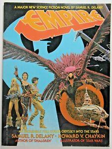 EMPIRE SOFTCOVER * 1st Printing 1978 BERKLEY/WINDOVER PRESS * HOWARD CHAYKIN