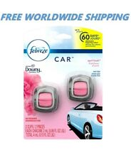 Febreze Car Air Freshener Downy April Fresh Vent Clips FREE WORLDWIDE SHIPPING
