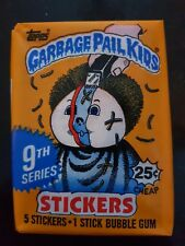 Garbage Pail Kids 9th Series US Unopened Sticker Pack