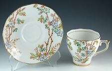 Vintage Bone China Roslyn Picta 8156 Tea Cup & Saucer Made In England
