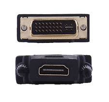 New Gold Plated Male DVI-I 24+5 to Female HDMI Adapter Converter DVI #577