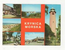 Krynica Morska Poland Postcard 368a ^