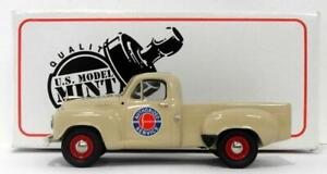 US Model Mint 1/43 Scale US38S - 1952 Studebaker R5 Pick-Up - Shell Ivory
