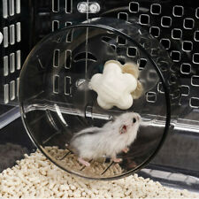 Hamster Mouse Rat Exercise Toys Plastic Silent Running Spinner Wheel Pet Toy