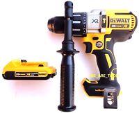 """New DeWalt DCD996 20V Brushless 1/2"""" Hammer Drill, (1) DCB203 Battery 20 Volt"""