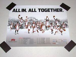 UNLV Runnin Rebels Basketball 2014-15 Team Poster NCAA 20x16 NEW RARE