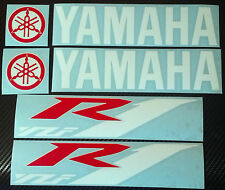2 x YAMAHA YZF R1 REAR WHEEL SET Decals Stickers RED AND WHITE