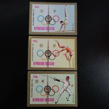 TCHAD POSTE AÉRIENNE PA N°138/140 JEUX OLYMPIQUES MUNICH 1972 NEUF ** LUXE MNH
