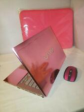 "Pink Chrome Sony Vaio S Series 13.3"" 500gb 8gb i5 2.60GHz Windows 10 Pro Office"