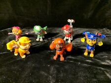 PAW PATROL Action Pack Pups Figures Lot 6