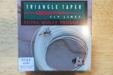 Royal Wulff Triangle Taper Fly Line - WF3F Ivory