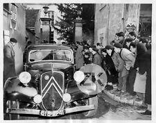 CITROËN TRACTION AVANT Justice AMANTS DE VENDOME Algarron Labbe Pub Photo 1955